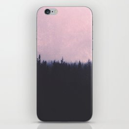 Seamless forest iPhone Skin