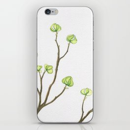 Green Dogwood iPhone Skin
