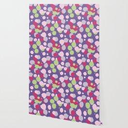 Blot ultra violet seamless pattern. Vector illustration Wallpaper