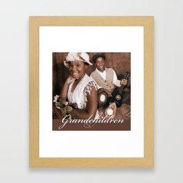 Grandchildren Framed Art Print