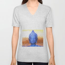 Mistic Buddha  Unisex V-Neck