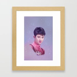 D.O - Exo  🐧 Framed Art Print