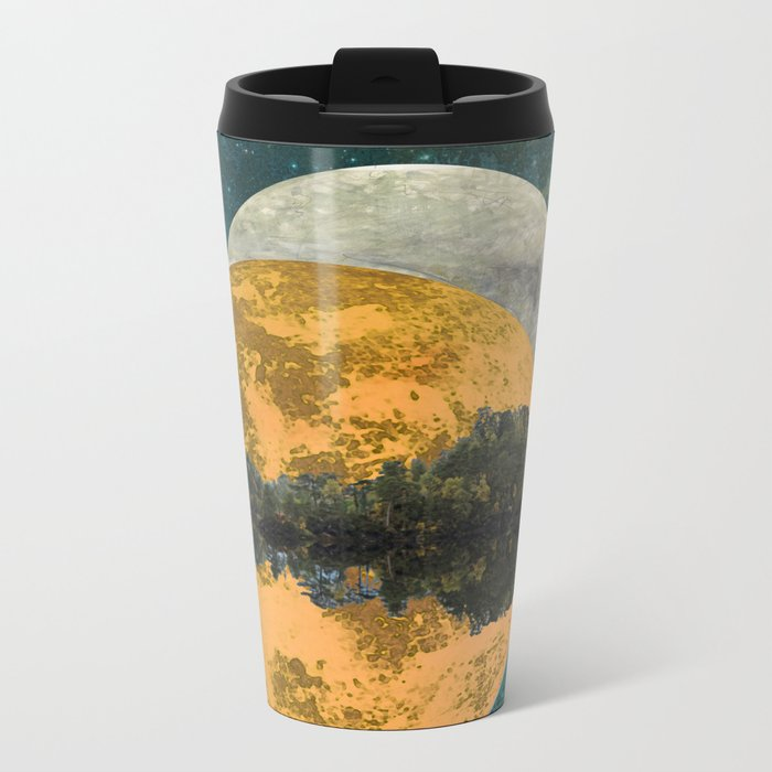 Because of parallel possibilities Metal Travel Mug