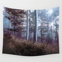 wanderlust Wall Tapestries featuring Wanderlust by StayWild