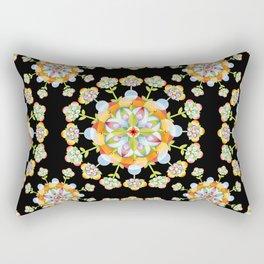 Jaipur Blossom Mandala Rectangular Pillow