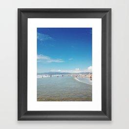 Venice Beach - California Framed Art Print