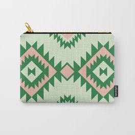 Navajo motif with watermelon pallet Carry-All Pouch