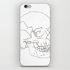 Vamp Skull iPhone & iPod Skin