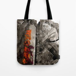 Incoming Zombies Tote Bag