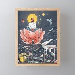 GOOD NEWS - MAC MILLER Framed Mini Art Print