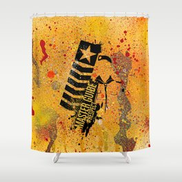 Guia Mayor PLAKSSO Shower Curtain