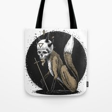 Kitsune Demon Fox Tote Bag