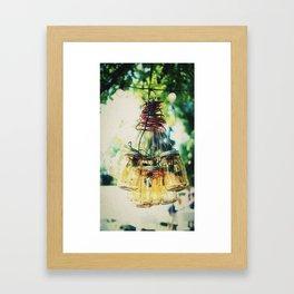 Jug Lamp Framed Art Print