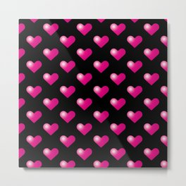 Hearts_E05 Metal Print