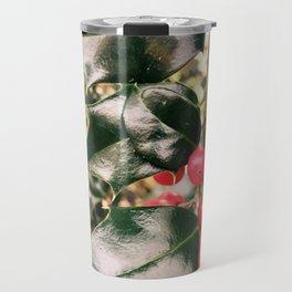 Christmas Mistletoe Travel Mug