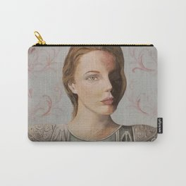 woman with Roman armor, timeless Carry-All Pouch