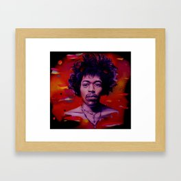 Voodoo Child Framed Art Print