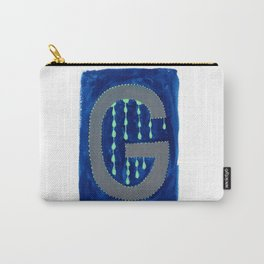 G is for Glowworm Letter Alphabet Decor Design Art Pattern Carry-All Pouch
