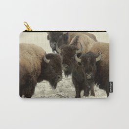 American Buffalo Carry-All Pouch