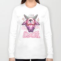 anime Long Sleeve T-shirts featuring BAD ANIME by mosaur