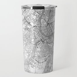 Basel Map Line Travel Mug