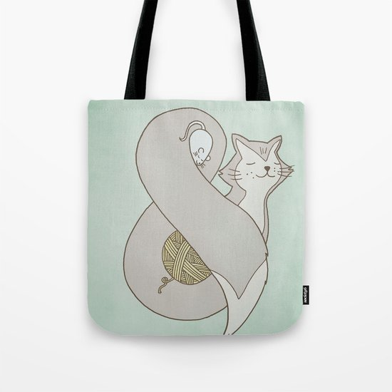Catpersand Tote Bag