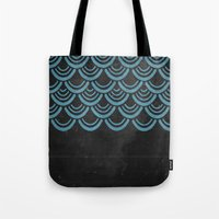 scales Tote Bags featuring Scales  by Last Call