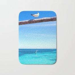 Bird - Cancun, Mexico Bath Mat