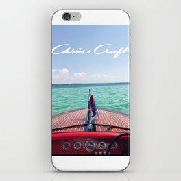 Chris Craft Boat iPhone Skin