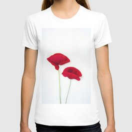 Two Red Poppies T-shirt
