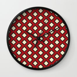 Seeing Red Again Wall Clock