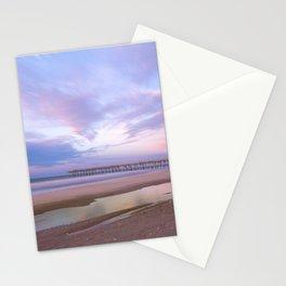 Pastel Sky, Beach Sunrise Stationery Cards