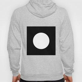 Reverse Black Hole   White Circle Hoody