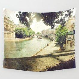 Seine, Paris Wall Tapestry