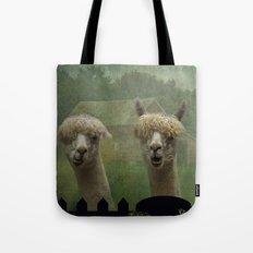 Alpaca Farm Tote Bag