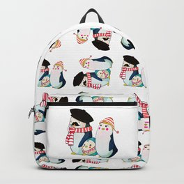 Penguin family Backpack