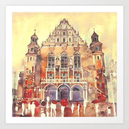 Poznań Art Print