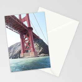 Summer in California - Golden Gate Bridge  Stationery Cards
