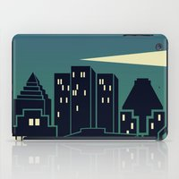 montreal iPad Cases featuring Montreal Skyline by Wheel of Fortune