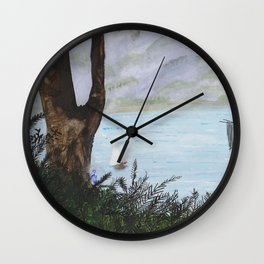 Water Sprite Wall Clock