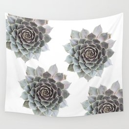 Succulent burst Wall Tapestry
