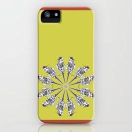 Matti the cocatiel circle of life iPhone Case