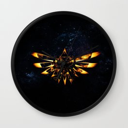 Zelda Triforce Wall Clock