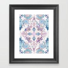 Wonderland in Winter Framed Art Print
