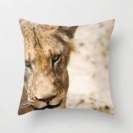 Primary Instinct Throw Pillow