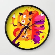 The Moving Block Wall Clock