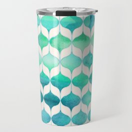 Ocean Rhythms and Mermaid's Tails Travel Mug