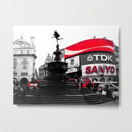Picadilly Circus - by Cheryl Gerhard Metal Print