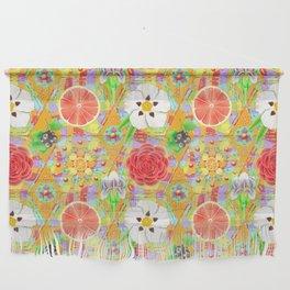 4160 Tuesdays Rainbow Botanicals Wall Hanging