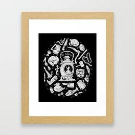 Songs of the Dark Lantern Framed Art Print